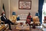 خطيب زادة يبحث مع زاخاروفا تعزيز التعاون الثقافي والاعلامي والدبلوماسي بين البلدين