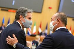گفتگوی وزرای خارجه ترکیه و آمریکا پیرامون «کنفرانس صلح افغانستان»