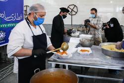 مہدوی اطعام کے سلسلے میں بڑے  باورچی خانہ کا افتتاح