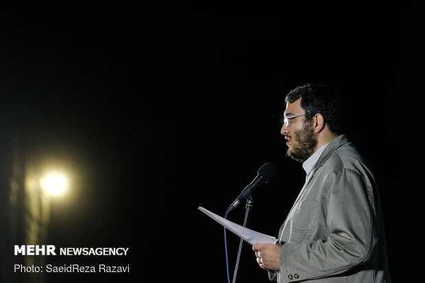 مراسم پایانی هفته هنر انقلاب اسلامی