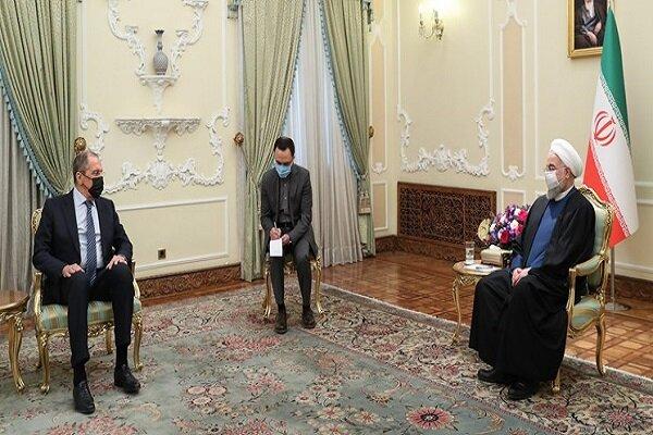 President Rouhani, FM Lavrov hold talks in Tehran