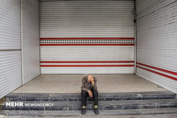 حجره های بسته بازار تبریز