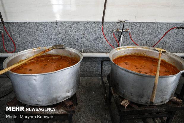 آیین افتتاح آشپزخانه اطعام مهدوی