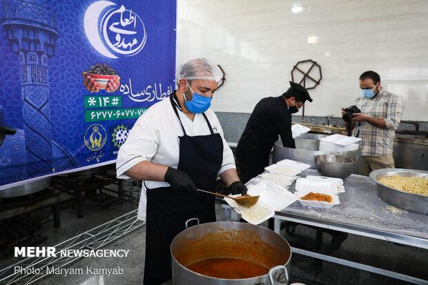 راه اندازی ۷۲ آشپزخانه مهدوی در استان قزوین