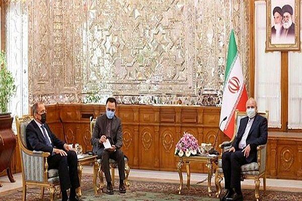 Lavorv meets Ghalibaf in Tehran