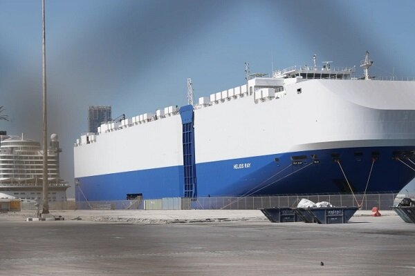 An Israeli ship targeted in Fujairah port