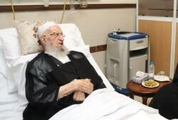 المرجع الإيراني مكارم شيرازي يرقد بمستشفى في طهران بسبب وعكة صحية