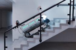 ربات ساختمانی به جوشکاری و آجرچینی کمک می کند