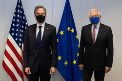 وزیر خارجه آمریکا و «جوزف بورل» گفتگو کردند