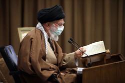 İslam Devrimi Lideri'nin katıldığı merasimden fotoğraflar