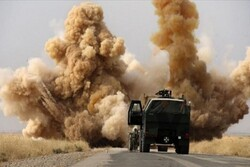 US logistics convoy targeted inside their base: report