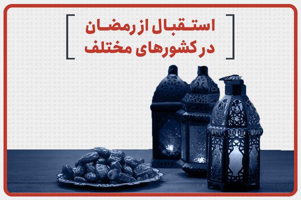 مختلف ممالک میں رمضان المبارک کا استقبال