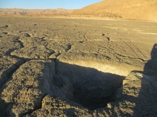 فرونشست زمین در فارس رکورد جهانی دارد
