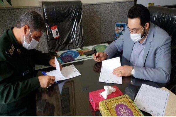 همکاری قرارگاه پیشرفت و جهاد دانشگاهی قزوین برای اشتغالزایی