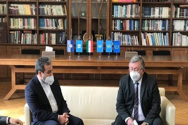 Iran's Araghchi, Russia's Ulyanov confer on JCPOA