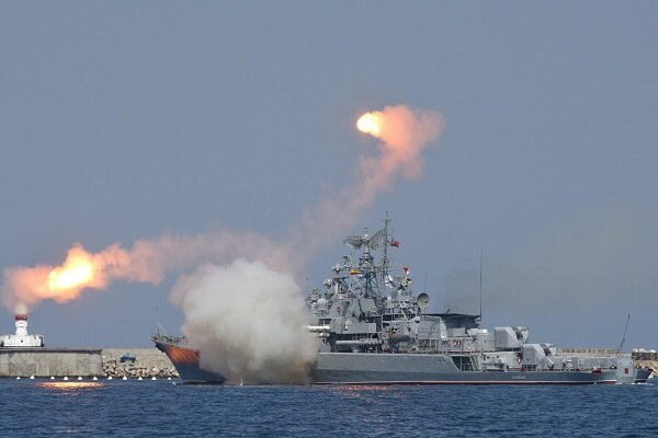 Russia's Black Sea fleet launches naval combat exercises