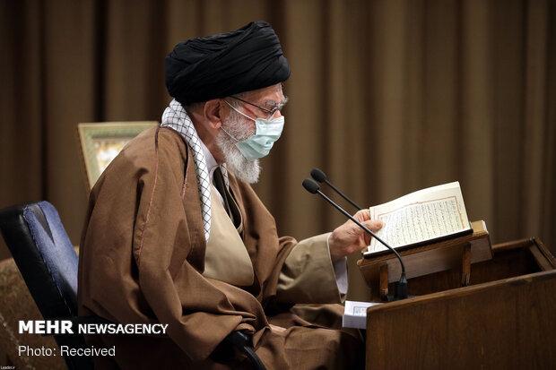 Devrim Lideri'nin katıldığı Kur'an-ı Kerim merasiminden fotoğraflar