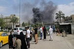 Car bomb blasts in Baghdad