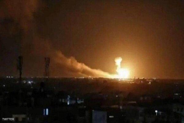 حمله راکتی به پایگاه نیروهای آمریکایی در اربیل عراق