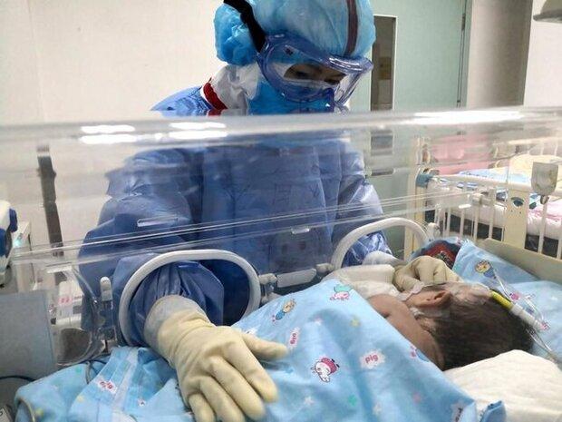 مرگ نوزاد یک ماهه ازنایی به دلیل ابتلا به کرونا