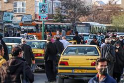 رعایت فاصلهگذاری اجتماعی در تاکسیهای تبریز الزامی است
