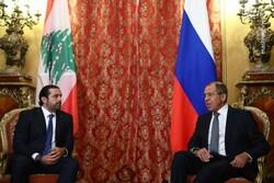دیدار سعد حریری با وزیر خارجه روسیه در مسکو