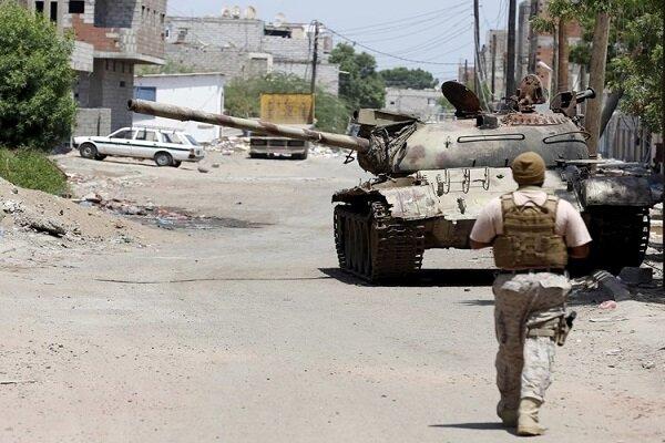 درگیری داخلی میان مزدوران آل سعود در مأرب