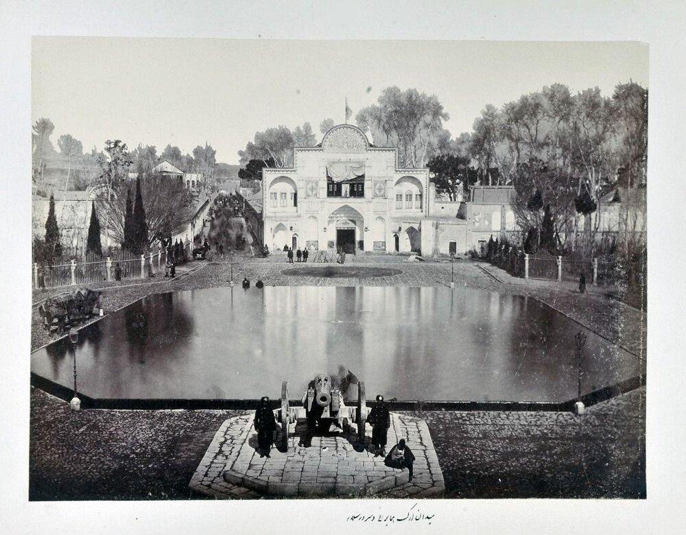 تنها درب تاریخی کاخ گلستان روی مردم باز می شود