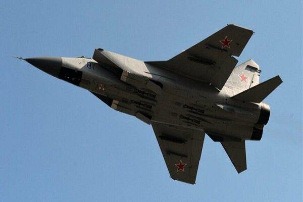 جنگندههای روسیه هواپیمای شناسایی آمریکا را رهگیری کردند