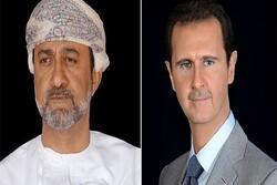 سلطان عمان پیروزی بشار اسد در انتخابات را تبریک گفت