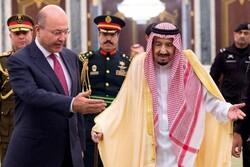 رئیس جمهور عراق و پادشاه سعودی درباره روابط دوجانبه رایزنی کردند