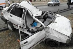 انحراف به چپ سواری پراید در محور دهلران حادثه آفرید