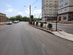 بهسازی و روکش آسفالت معابر شهری در منطقه ۱۴ پایتخت