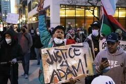 Hundreds march in Chicago, protesting police shooting of 13-year-old Adam Toledo