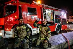مهار آتش سوزی در پاساژ مهستان