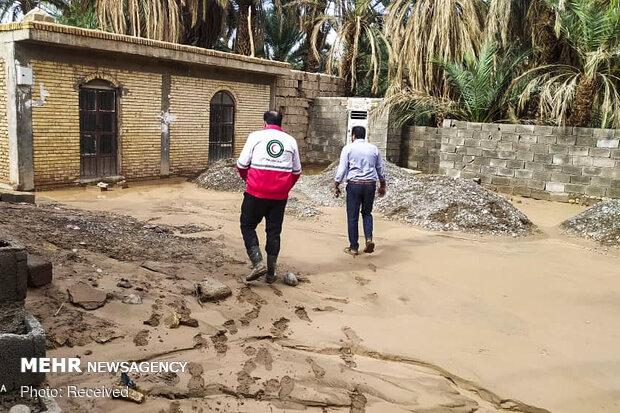 امدادرسانی به ۳۱۸ آسیب دیده سیلاب در سیستان و بلوچستان