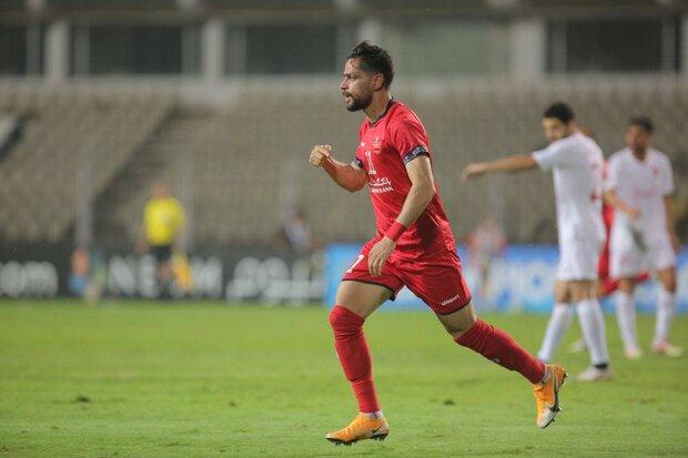 کامیابینیا بهترین بازیکن دیدار پرسپولیس و الریان قطر