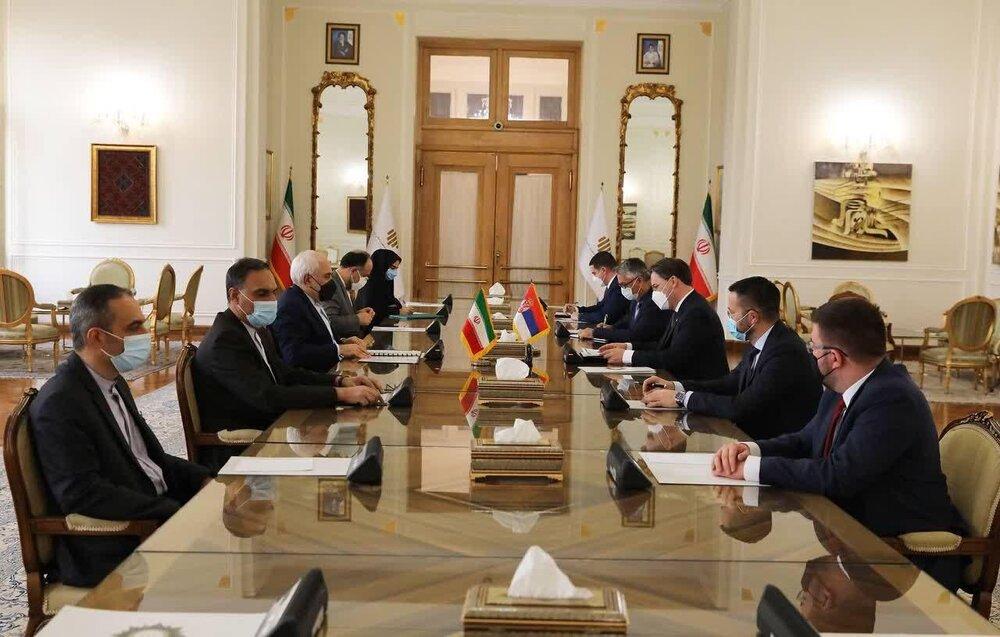 وزیران امور خارجه ایران و صربستان دیدار کردند