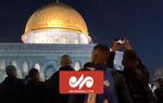 حال و هوای مسجد الاقصی در سحرهای ماه رمضان
