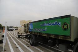 رژه خودرویی یگانهای نمونه نظامی استان سمنان در شاهرود برگزار شد