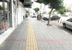 احداث ۱۵ کیلومتر مسیر پیاده رو سازی ویژه توان یابان