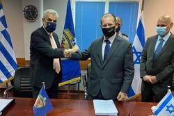 رژیم صهیونیستی و یونان توافق نظامی امضا کردند