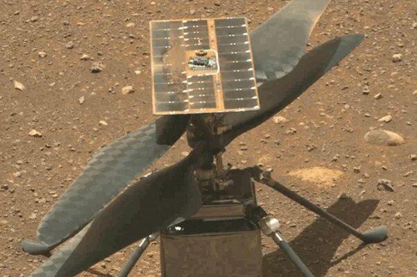 هلیکوپتر ناسا فردا روی مریخ پرواز می کند