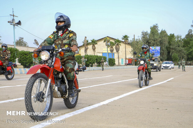 Armed Forces parade in 1st Naval Zone of Army Navy Force