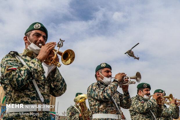 رژه روز ارتش در تبریز