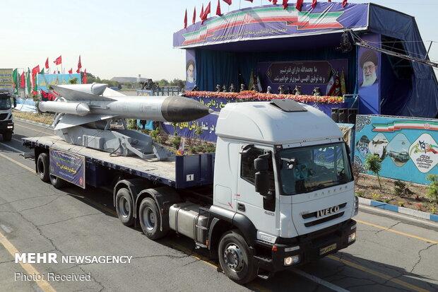 Army Day parade held in Tehran
