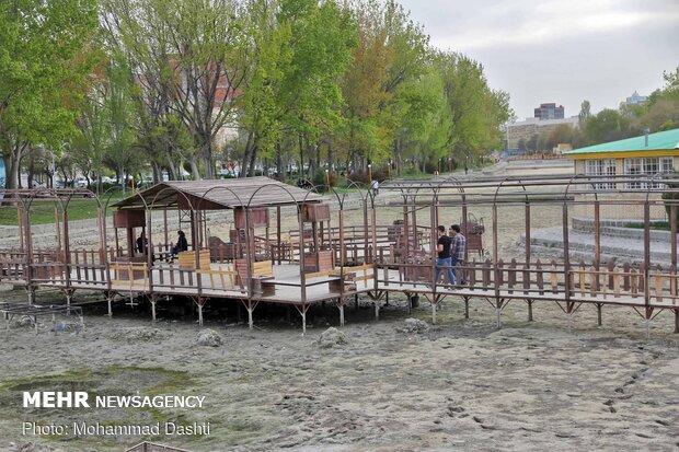 وضعیت اسف بار رودخانه بالیقلو چای اردبیل