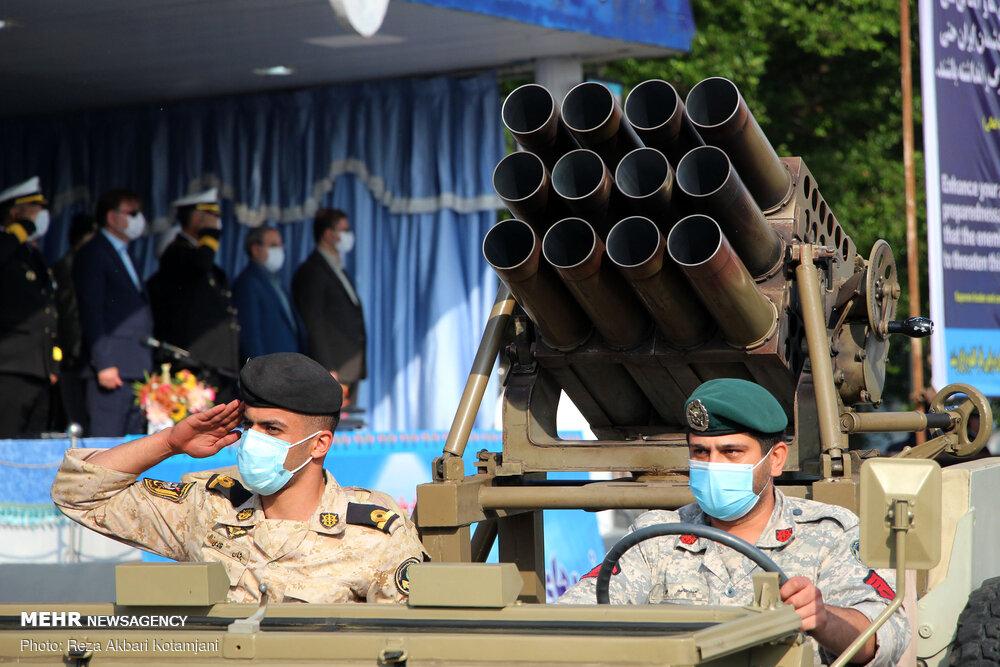Iran Navy commemorates National Army Day in Rasht