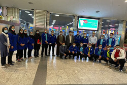 کاروان وزنهبرداری ایران راهی ازبکستان شد
