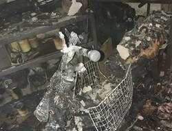 آتش سوزی درتراشکاری خیابان سجاد/ جوان۳۰ساله درتصادف باپایه چراغ برق مصدوم شد